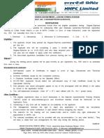 NHPC Notice Form 21 10