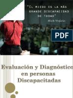 Evaluación y Diagnóstico en Personas Con Discapacidad