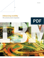 Advancing Mobility | the next frontier in smarter transportation