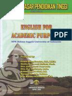 English for Academic Purposes UI 2009