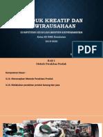 KD 3.13 Metode Perakitan Produk