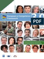 European e Competence Framework 3.0 CEN CWA 16234 1 2014