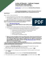 Fin Aid Worksheet