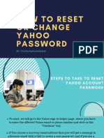 How to Reset or Change Yahoo Password