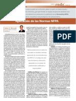 NFPA 72 Aplicacion