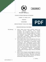 Salinan UU Nomor 18 Tahun 2019 - PESANTREN