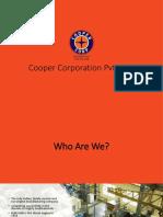 Corporate Presentation - Cooper Corp