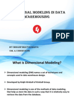 Dimensional Modeling in Data Warehousing