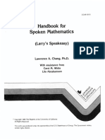 E Book Handbook for Spoken Mathematics.pdf