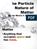 The Particle Nature of Matter