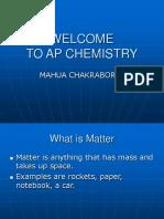 AP Chemistry Chpt 1