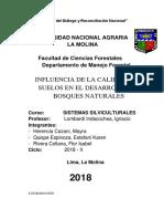 Influencia de La Calidad de Suelos en El Desarrollo de Bosques Naturales (1)