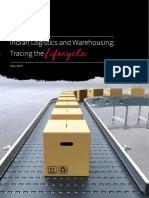 2019 - Indian Logistics and Warehousing-Tracing the Lifecycle
