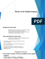 Theme and Rheme in English.pdf