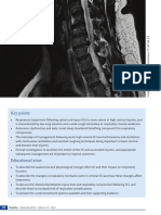 Respiratory Problems and Management in People With Spinal Cord Injury