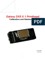 Galaxy Dx5 x 1 Printhead Update 1.39 Headboard