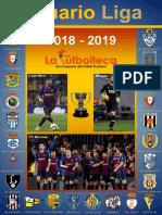 Anuario Liga 2018-2019
