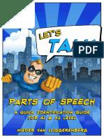 Let's Talk Parts of Speech