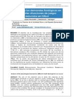 Analisis demandas fisiologicas en SSG
