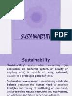 1 Sustainability Intro
