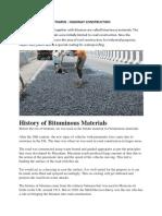 Highway Materials Bitumen