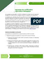 Contenu Du Programme de Certification Pour Site Internet