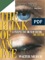 The blink of an eye by Walter Murch