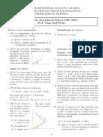 Lista2 - Física I