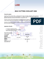 Soluble Cutting Coolant 2280