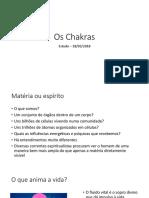 Estudos Mediunicos HL Os Chakras 18mar2018