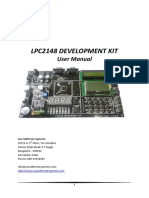 ARM7 LPC2148 User Manual v1.0