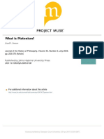 What is Platonism L Gerson.pdf