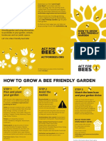 act for bees flyer