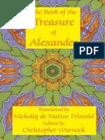 Book of the Treasure of Alexander