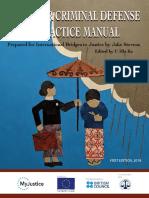 Myanmar Criminal Defense Practice Manual
