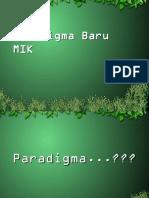 Pardigma Baru MIK