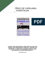 ministerio de capelania hospitalar
