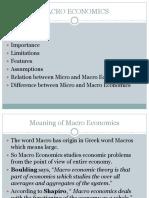 PPT Macro Economics
