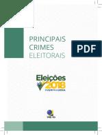 Cartilha Crimes Eleitorais 2018