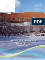 Human Services 2009 Annual Report - Jefferson County, CO