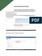 Guia Obtencion certificado DLTCAD