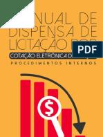 Manual de Cotação Eletrônica de Preços 1ª Edição