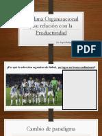 Clima Organizacional y Productividad