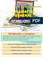 01 Introduccion Estadística