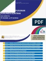 Modul 1_Kebijakan Penyusunan Dok. Kontrak UU dan PP_april2017.ppt