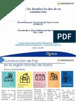 Act 5 La Paz y Los Desafíos Locales de Su Construcción