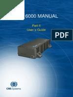 CNS Systems VDL 6000 AIS User Manual