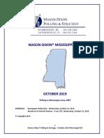 Mason Dixon Oct 2019 Gov Poll