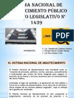 Sistema Nacional de Abastecimiento Publico