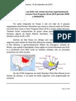 Relatório Viagem Pionner - Farm Progress Show - EUA - 2010